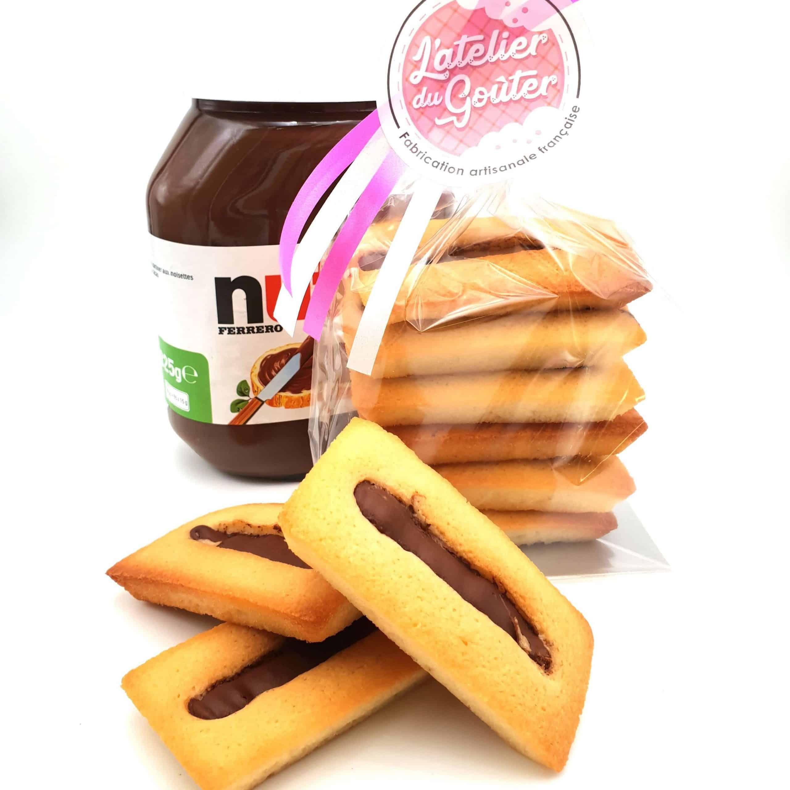 Financier Nutella