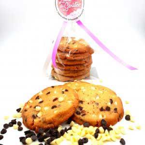 Cookies 2 chocolats ( blanc/noir)