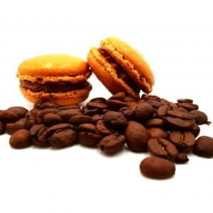 photo macaron saveur café