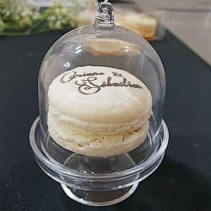 macaron personnalisé cadeau pour mariage